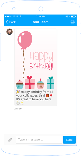 Staffbase Birthday Notification Chatbot