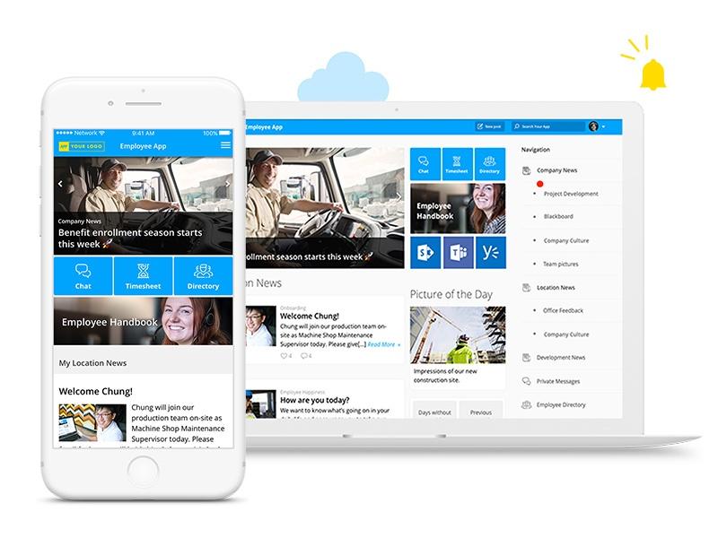 Mitarbeiter-App als interner Kommunikations-Hub