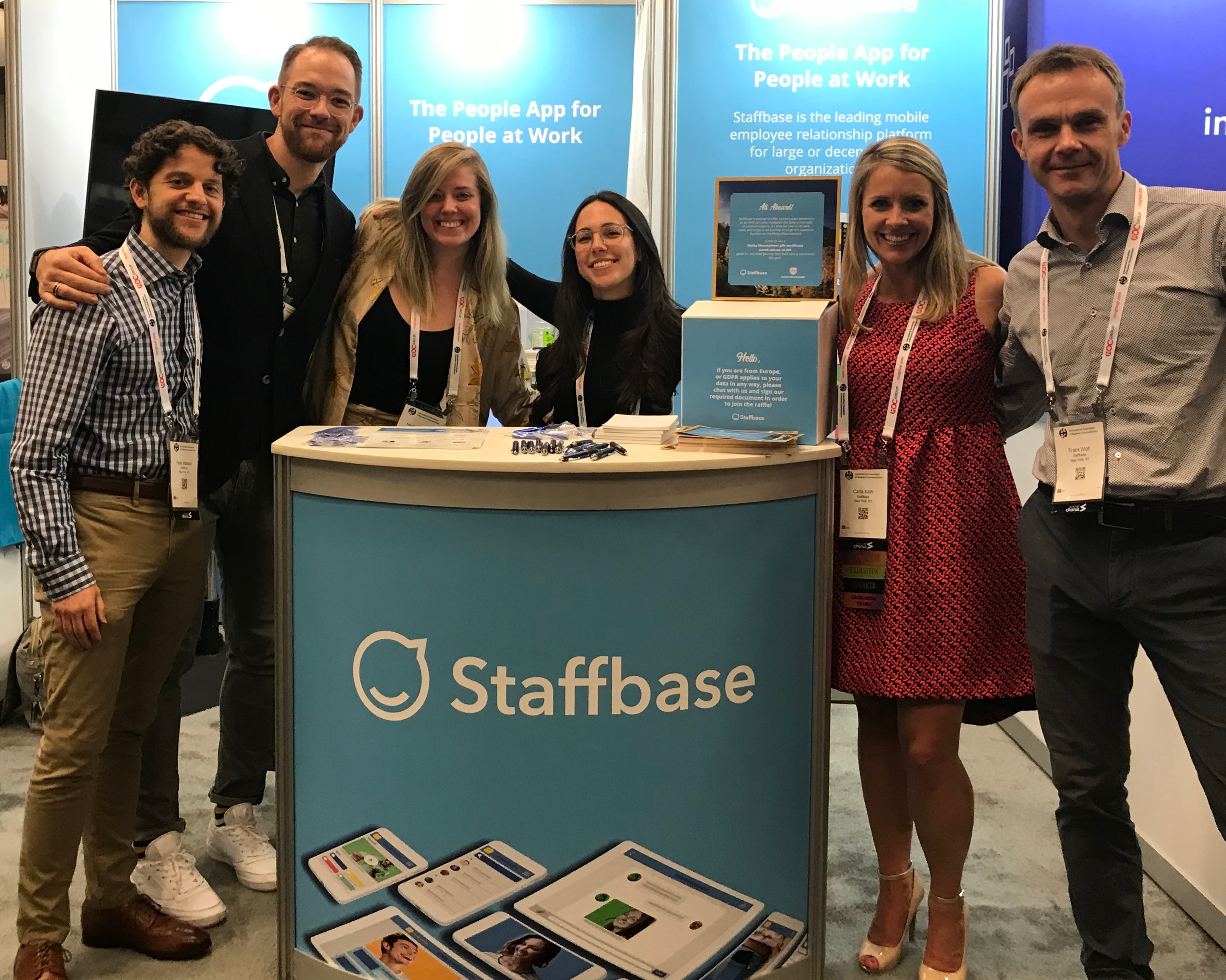 Staffbase at IABC 2018