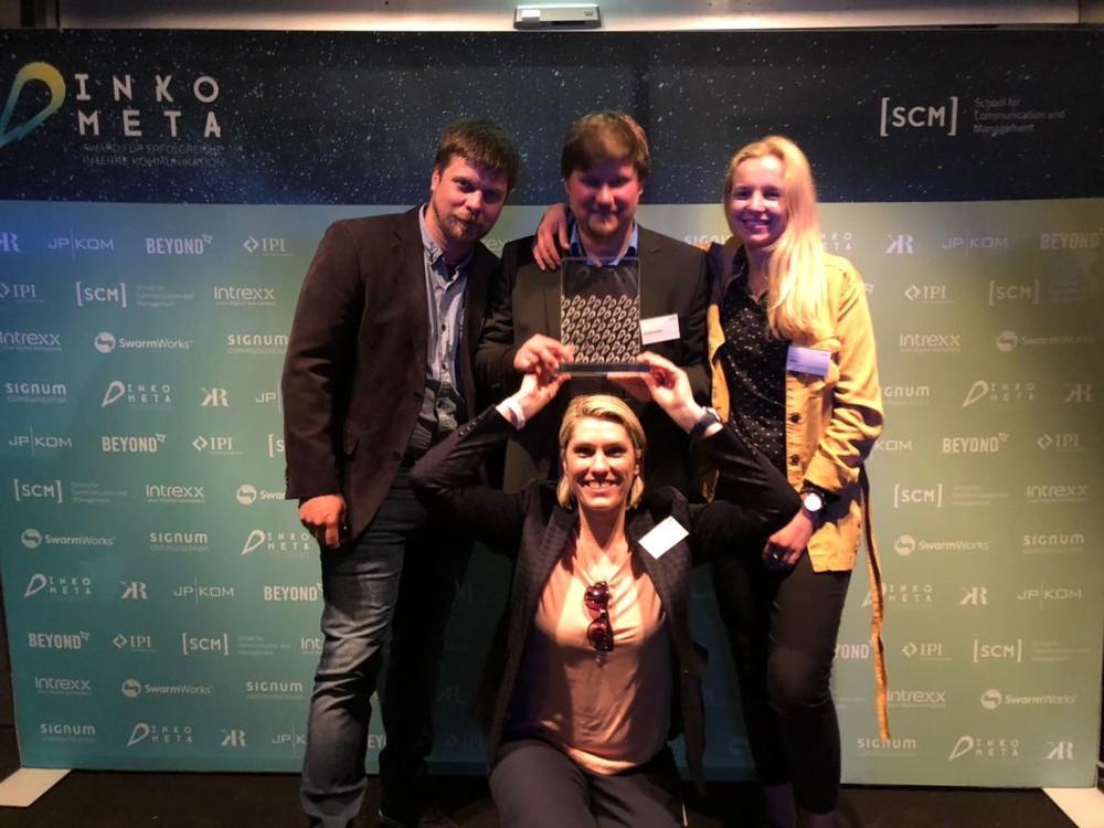 Telekom employee app wins INKOMETA award