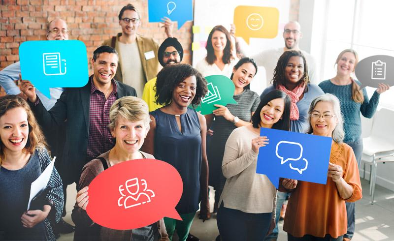 Transparente interne Kommunikation für alle Mitarbeiter