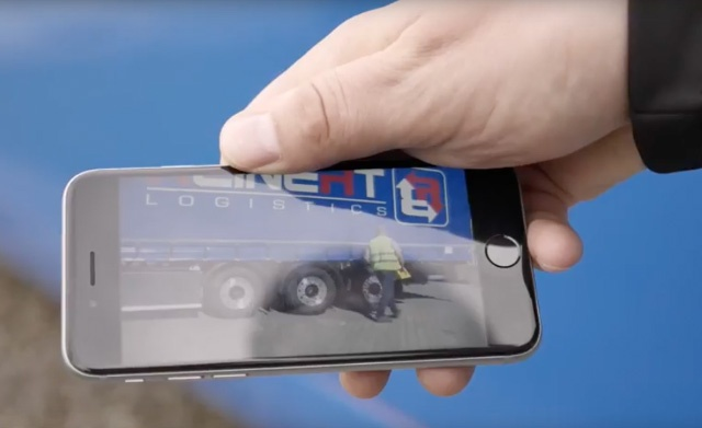 Reinert Logitics Video to train drivers Employee App
