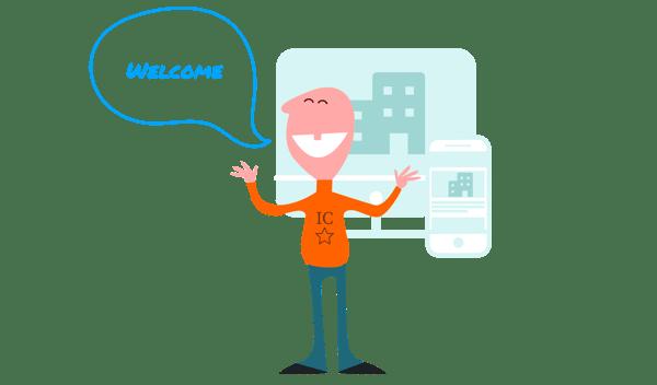Communicator Welcome Front Door to Digital Workplace