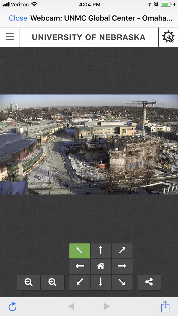 Sampson Construction SampsonHub Employee App Staffbase Webcam
