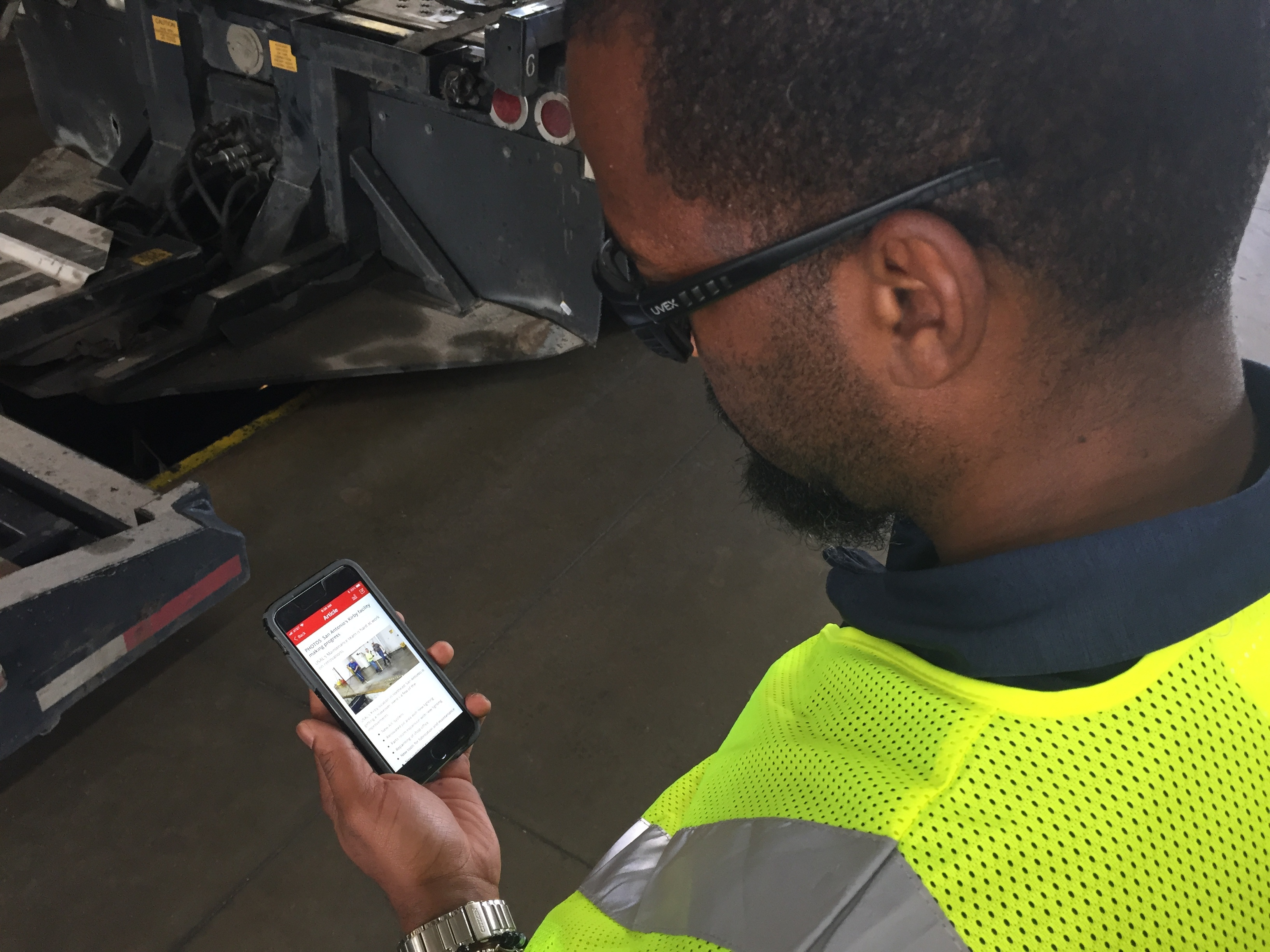 US Autologistics employee app Flipper