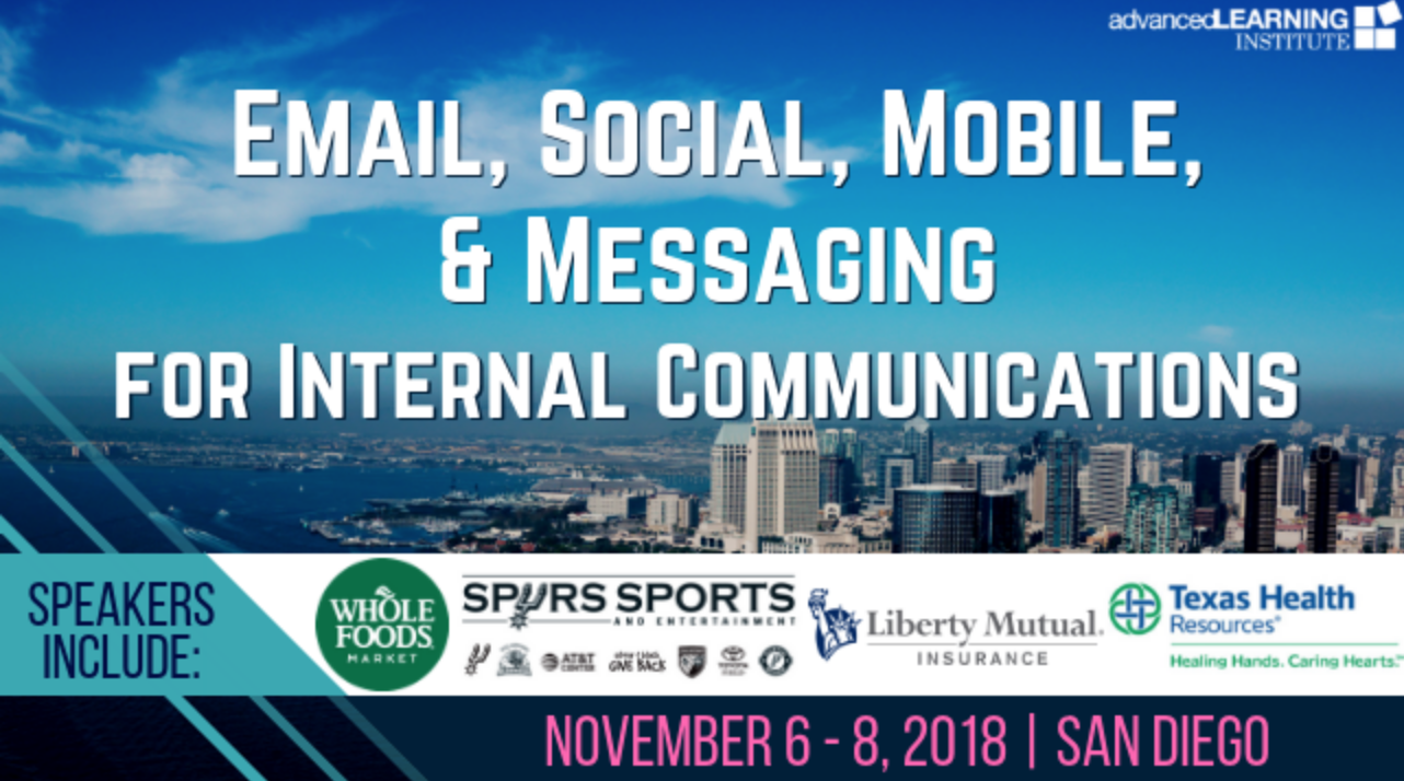 Email, Social, Mobile & Messaging for Internal Communications