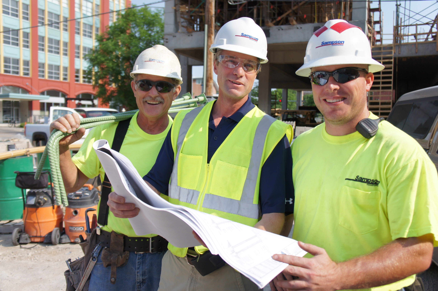 Sampson constructions employee app
