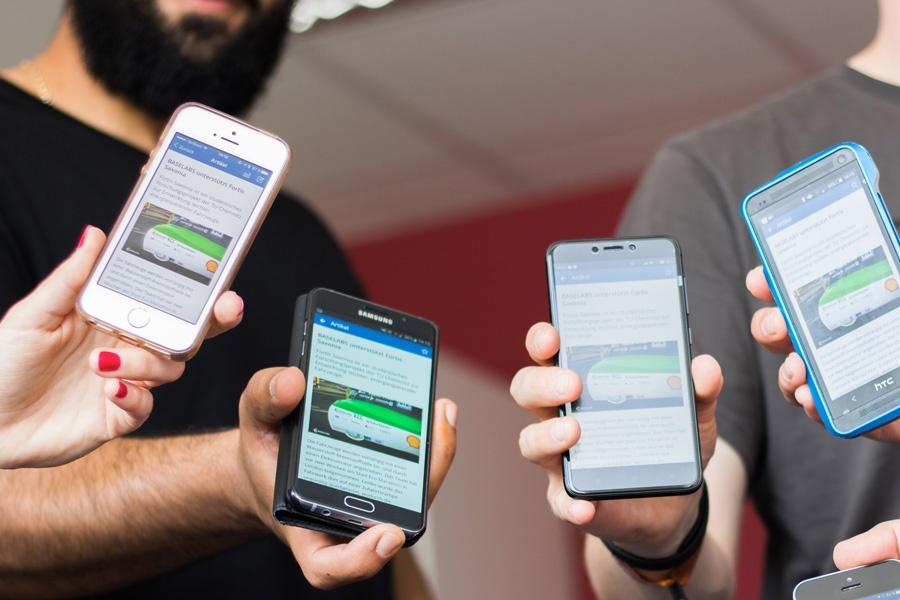 employee app, internal comms, BASELABS