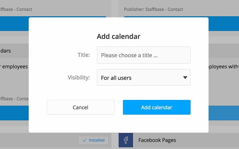 Advent calendar plugin for the app