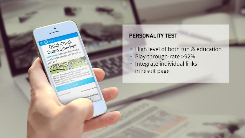 Contilla Personality Test