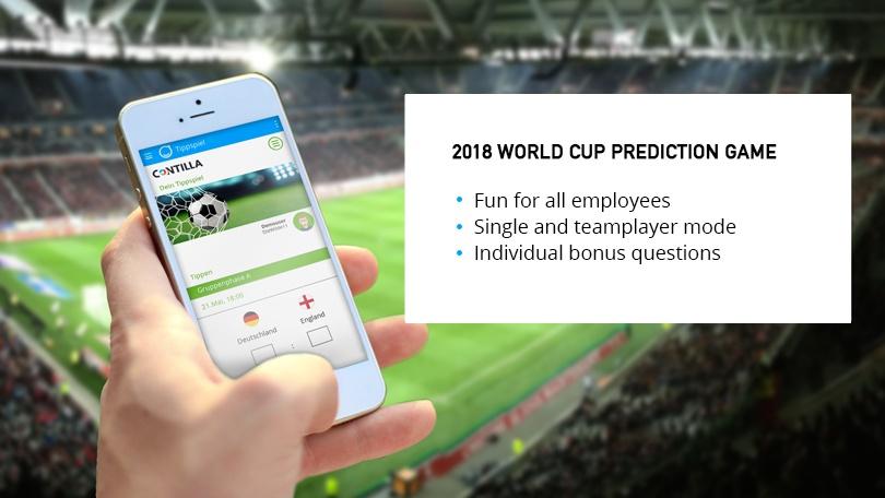 Contilla Soccer World Cup Game