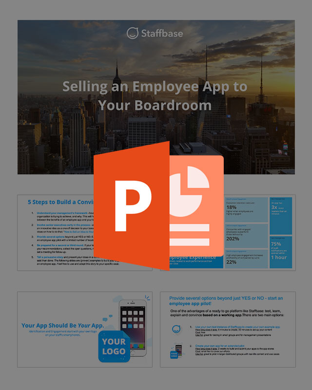 Teaser Selling an Employee App to Your Boardroom