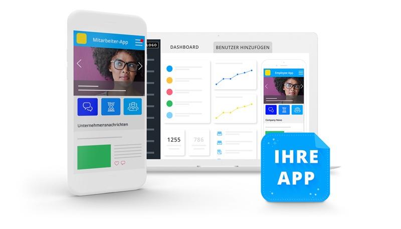 Kostenloses Demo Staffbase Mitarbeiter App