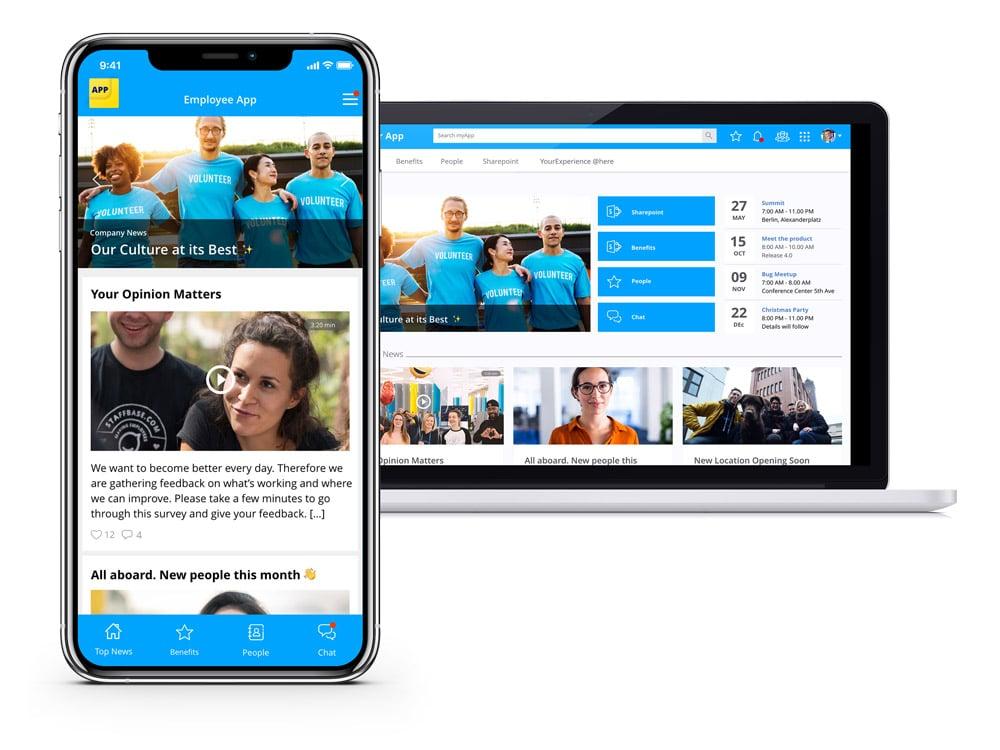 Staffbase Product Image