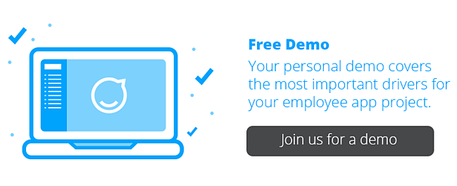 Schedule a free demo of Staffbase