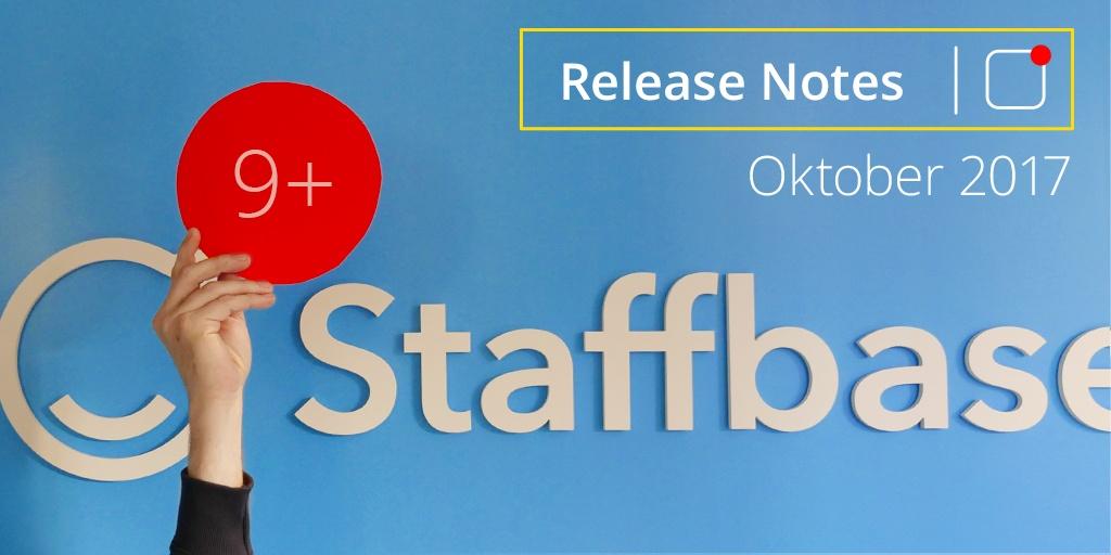 Staffbase Release Note Oktober 2017