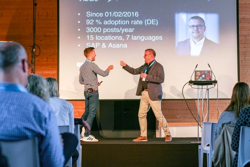 Martin and Carsten, Staffbase and Viessmann, Summit 2018