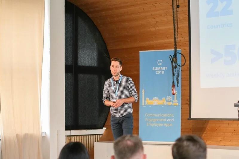 Staffbase Summit 2018, Martin Böhringer