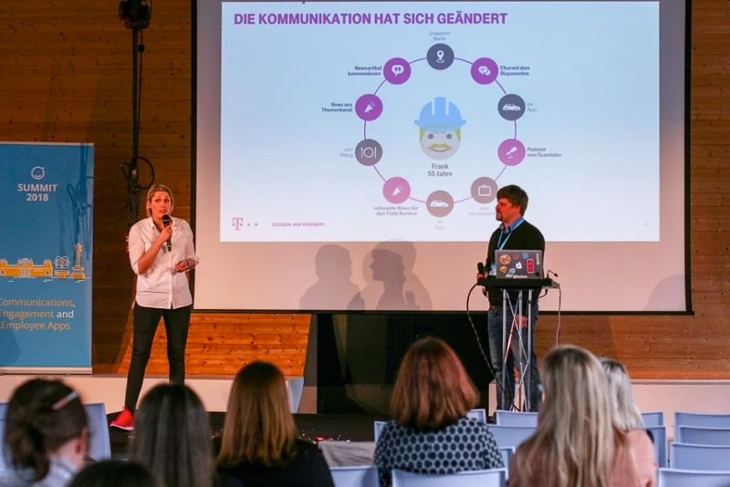 Telekom, Sarah Wirt, Staffbase Summit