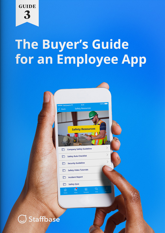 required features employee app mobile communication