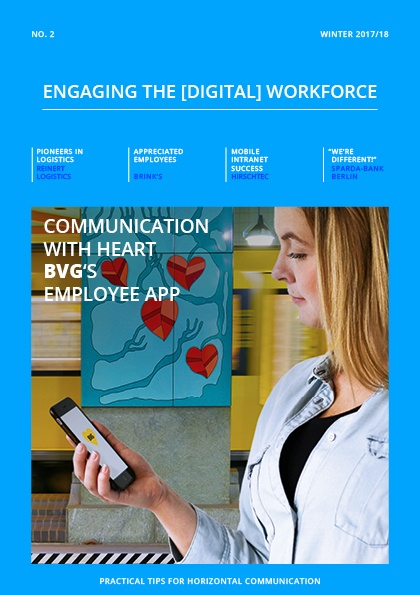 A Mobile Intranet to Reach All Employees