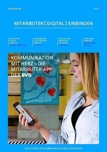 Staffbase Magazin Mitarbeiter digital einbinden