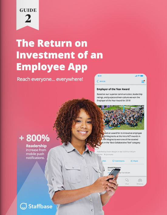 Return on Investment of an Employee App Whitepaper