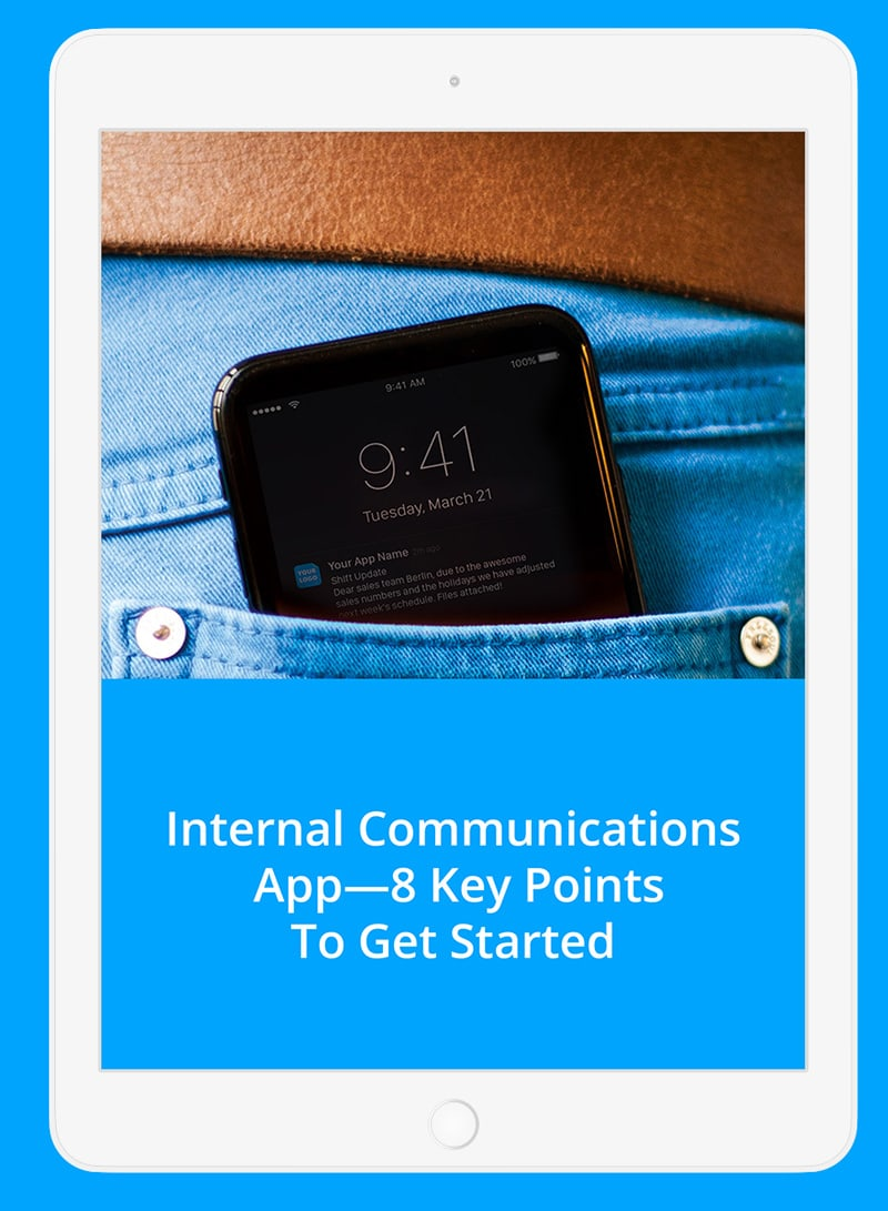 Download Free eBook 8 Keypoints to get started with your employee app