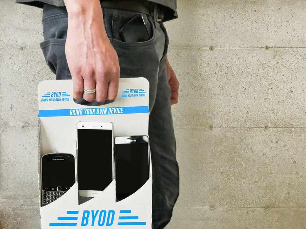 Sechs Gründe, warum BYOD für heutige Top-Unternehmen Sinn macht