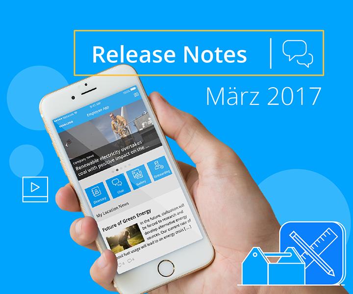 Die neue Mitarbeiter-App: Modernes Design, hochwertige Startseite und Gruppen-Messaging