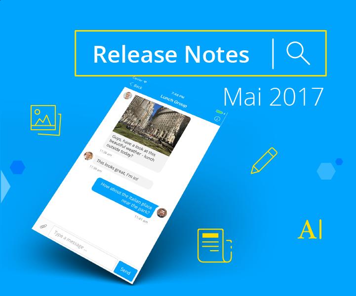 Aktualisierte Mitarbeiter-App bringt Dateianhänge im Messenger und einen überarbeiteten Editor für unterwegs