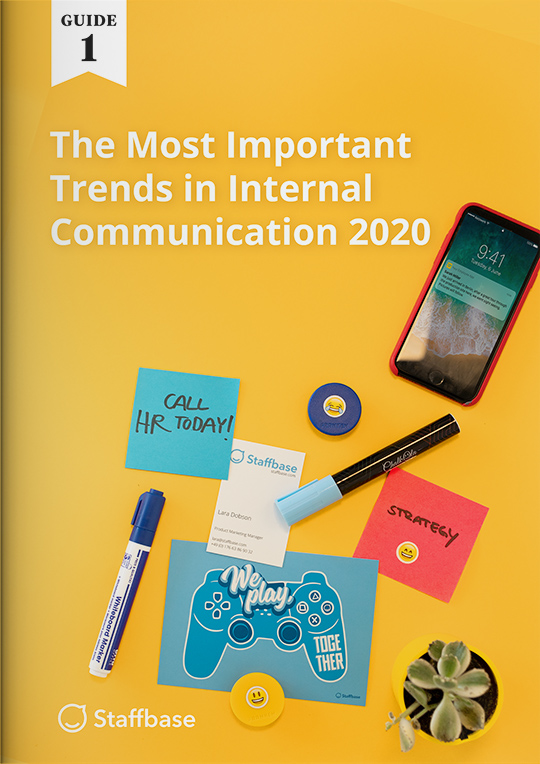 list of most important internal communications trends
