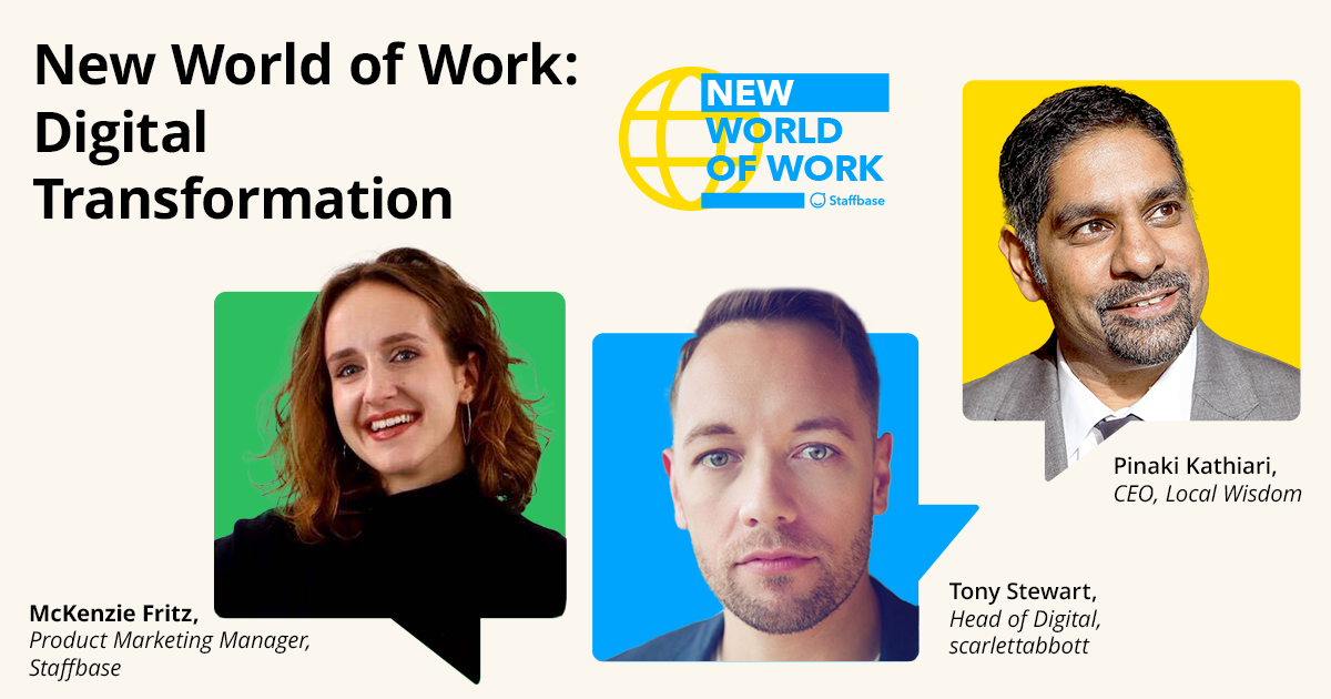 New World of Work Digital Transformation